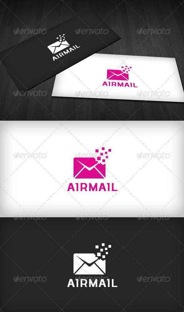 Airmail Logo - Objects Logo Templates