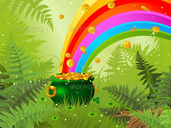 Saint Patrick Day Background - Seasons/Holidays Conceptual