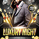 Luxury Night Flyer - GraphicRiver Item for Sale