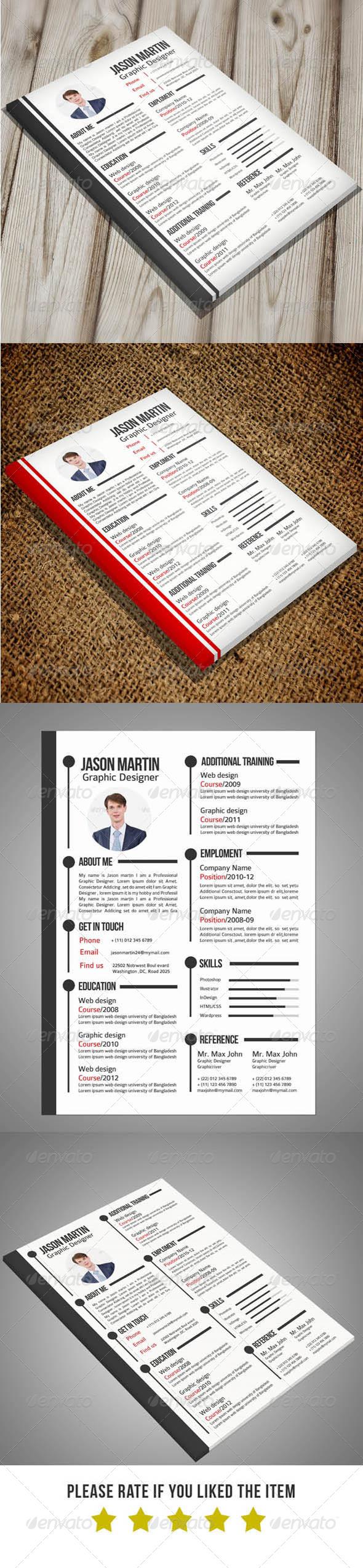 2 in 1 Resume Set - Resumes Stationery