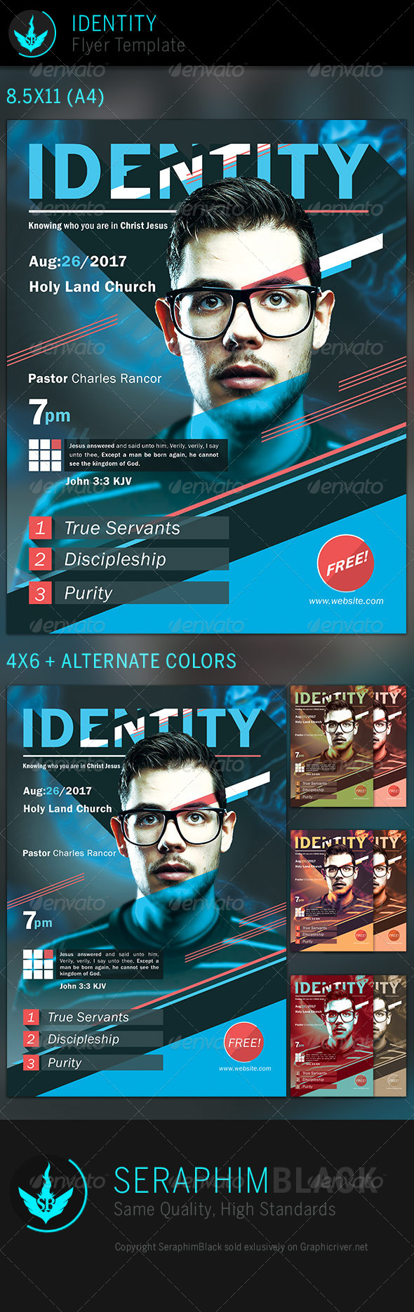 Identity: Church Flyer Template - Church Flyers