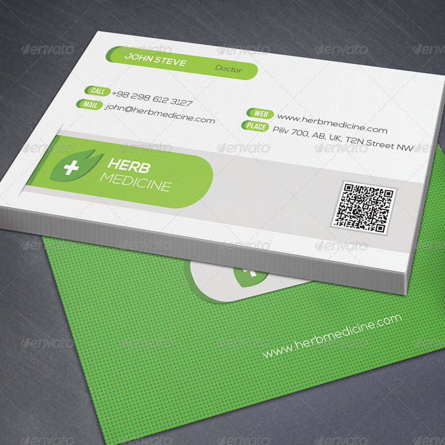 Corporate Medical Business Card v52 by oksrider   GraphicRiver