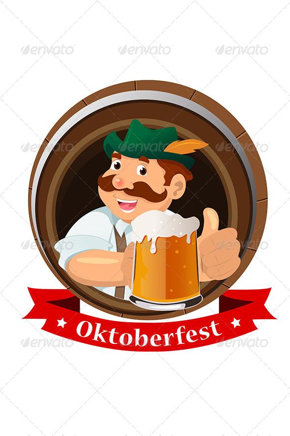 Oktoberfest Concept - Backgrounds Decorative