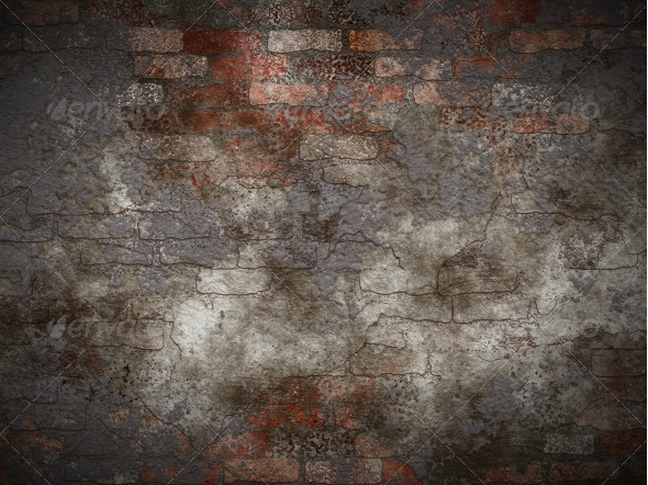 Vintage brick wall - Industrial / Grunge Textures