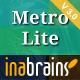 MetroLite - Responsive Parallax Coming Soon