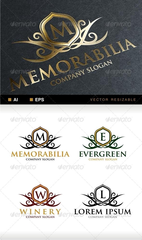 Memorabilia Crest Logo  - Crests Logo Templates