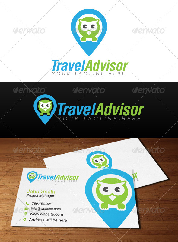 Travel Advisor Logo - Animals Logo Templates