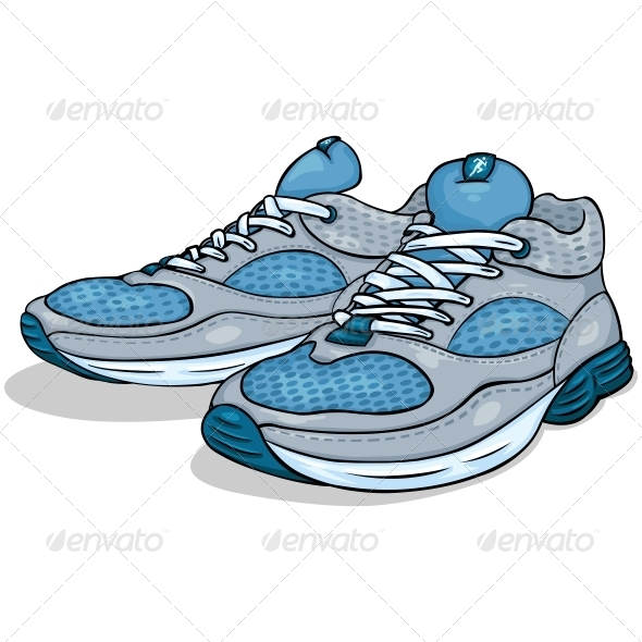 Running Shoes - Sports/Activity Conceptual