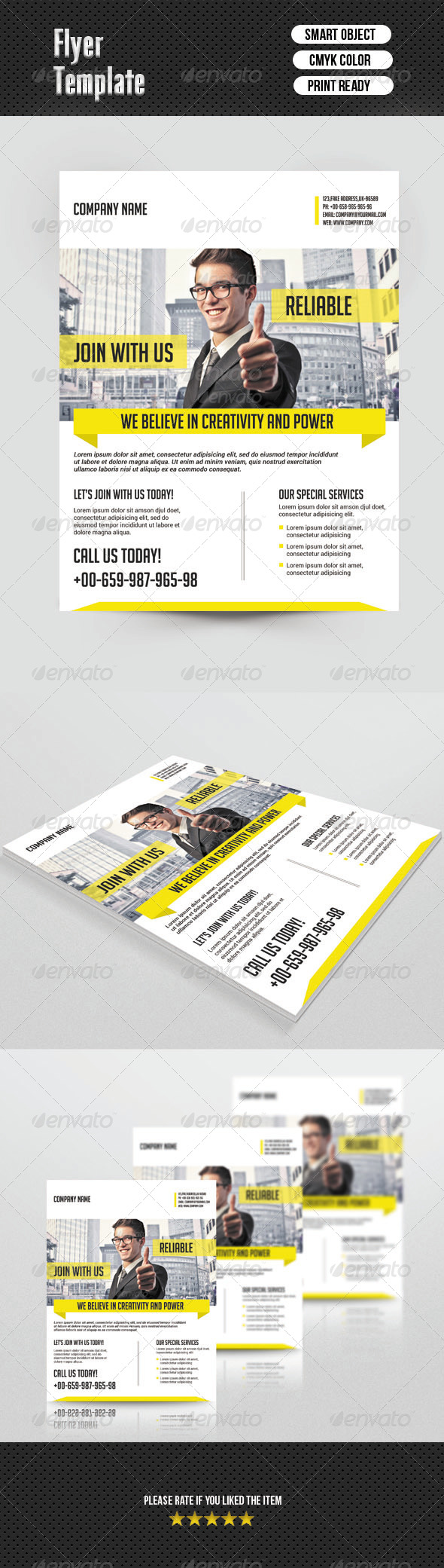 Flyer Template-Business - Corporate Flyers