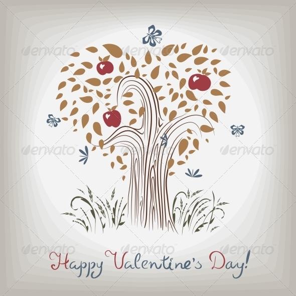 Valentine's Tree - Valentines Seasons/Holidays