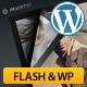 Fashion FlipBook flash&plugin WP