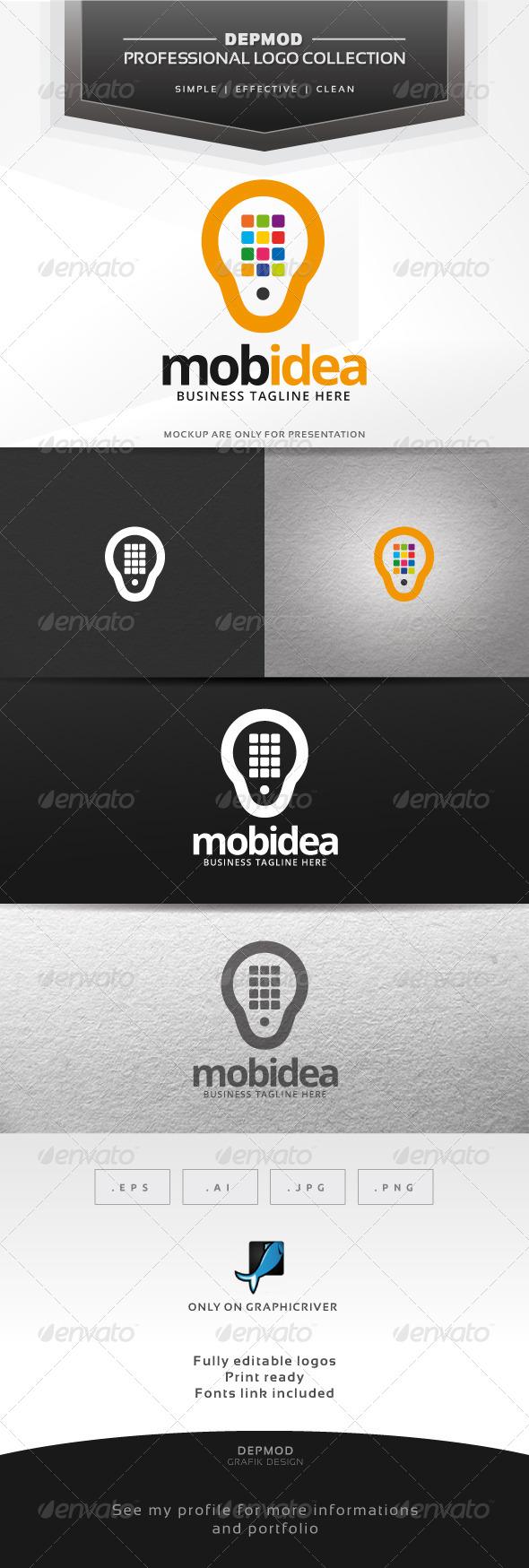 Mobidea Logo - Symbols Logo Templates