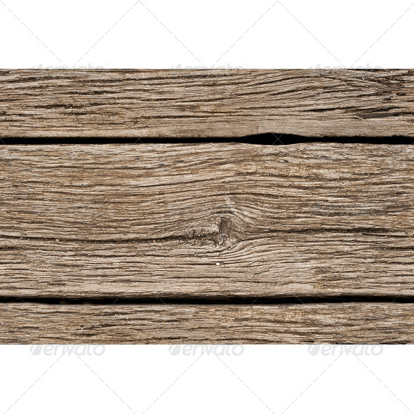 Tileable Old Wooden Planks Texture - Wood Textures