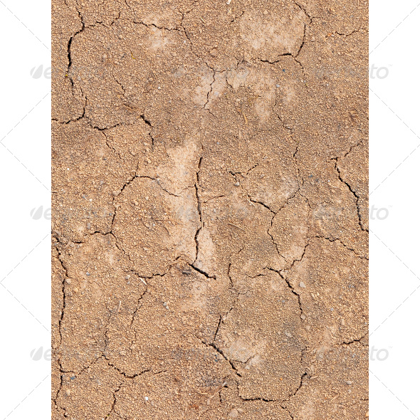 Tileable Fissured Soil Texture - Nature Textures