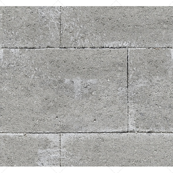 Tileable Concrete Blocks Texture - Concrete Textures