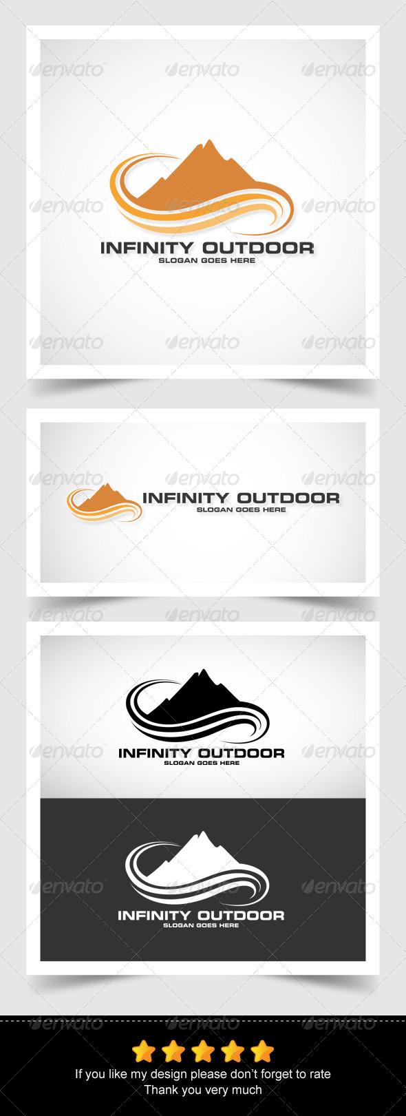 Infinity Outdoor - Nature Logo Templates