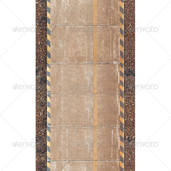 Railway Platform Texture - Miscellaneous Textures