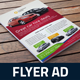 Automotive Car Sale Rental Flyer Ad Template Vol.5 - GraphicRiver Item for Sale