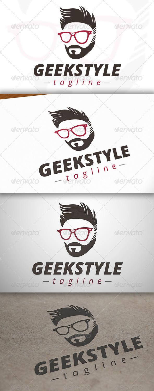 Geek Style Logo - Humans Logo Templates