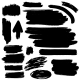 Black Brush Strokes Collection - GraphicRiver Item for Sale