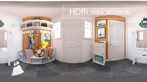 0354_Interoir_HDR - 3DOcean Item for Sale