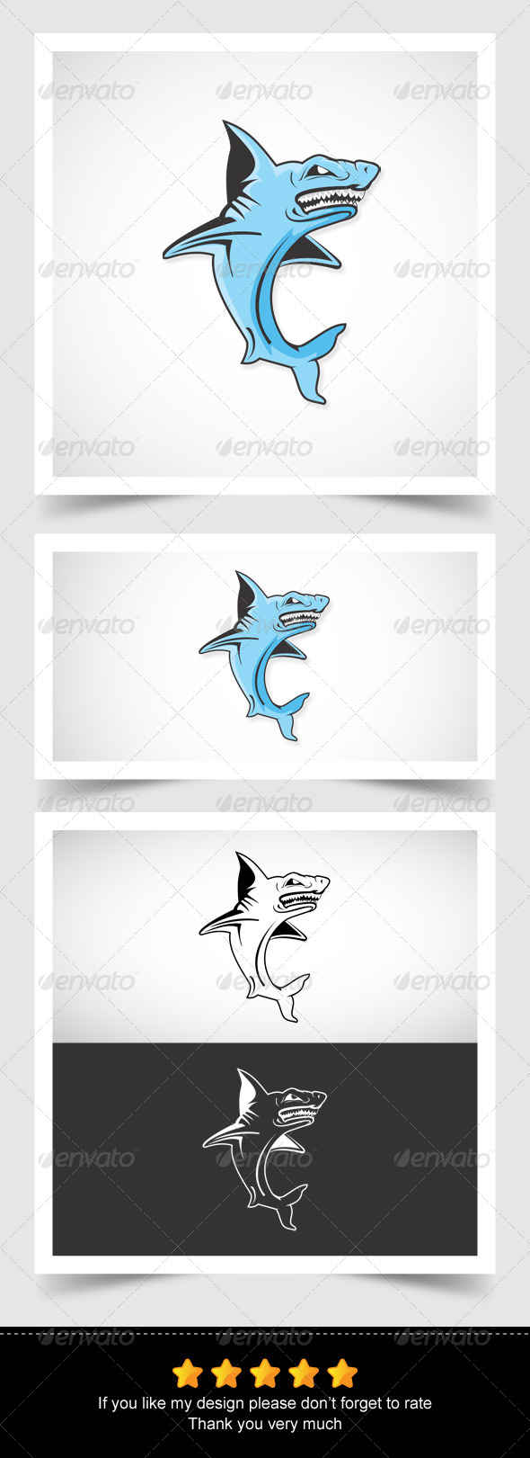 The Shark - Animals Characters