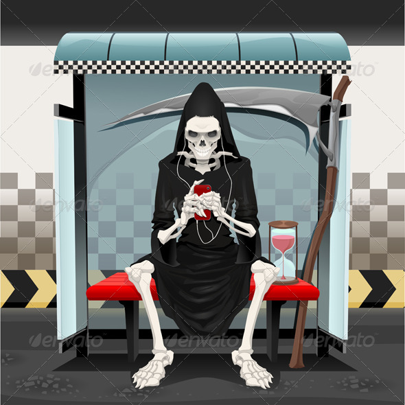 Meetings on the Subway Station - Halloween Seasons/Holidays