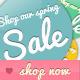 Online Shop Badges for Spring & Summer - GraphicRiver Item for Sale