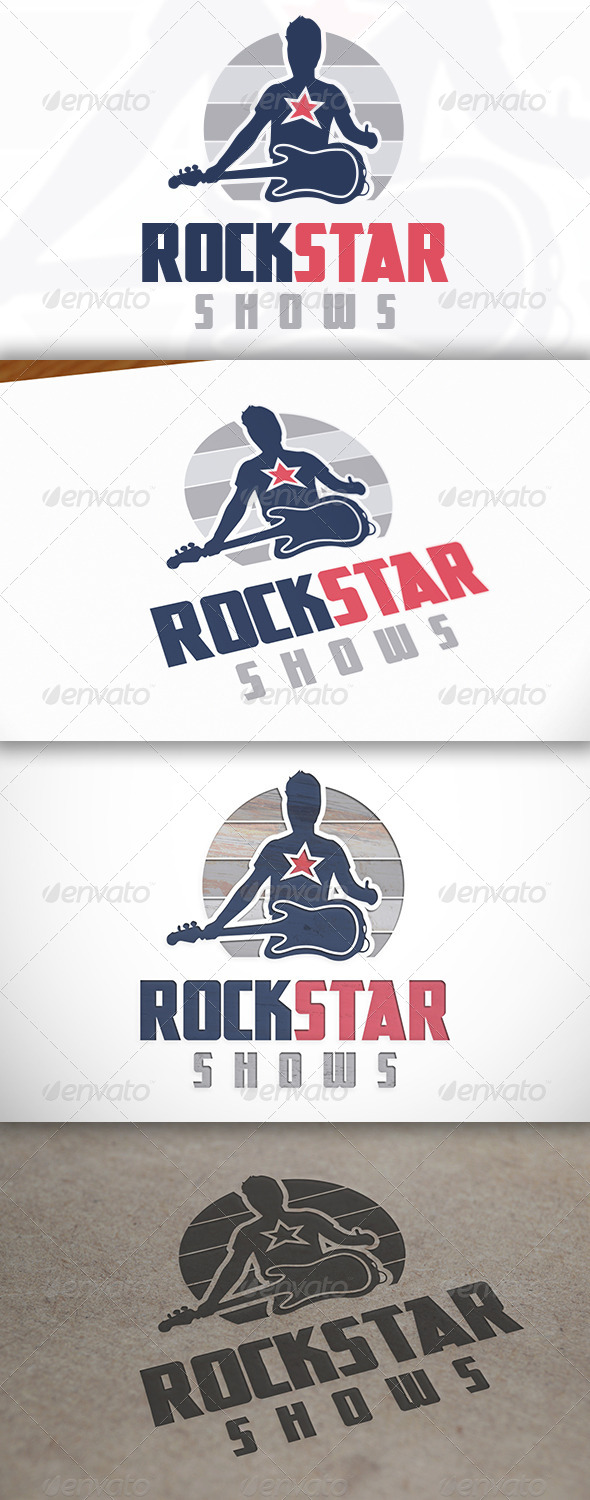 Rockstar Logo - Humans Logo Templates