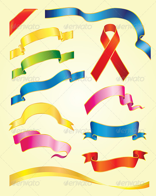 Ribbons  - Decorative Symbols Decorative