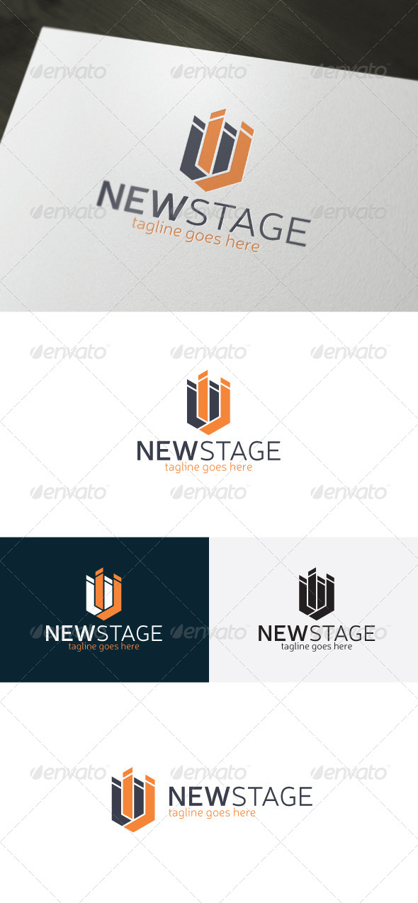 New Stage Logo - Vector Abstract