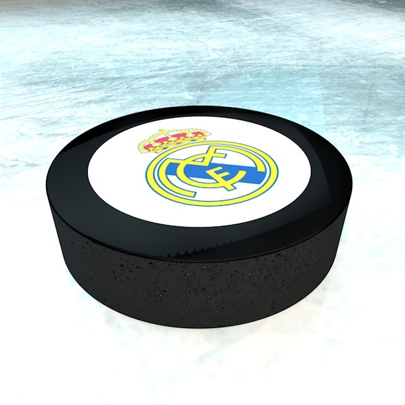 Hockey Puck - 3DOcean Item for Sale