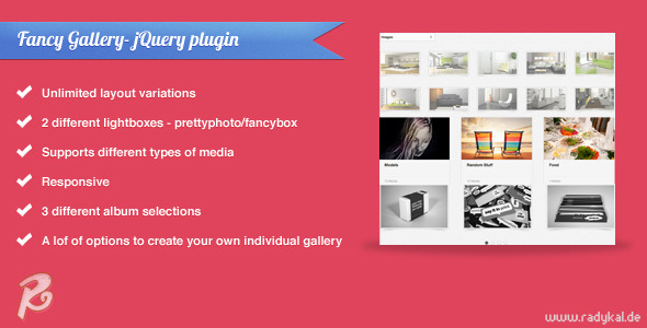 Fancy Gallery - jQuery plugin - CodeCanyon Item for Sale