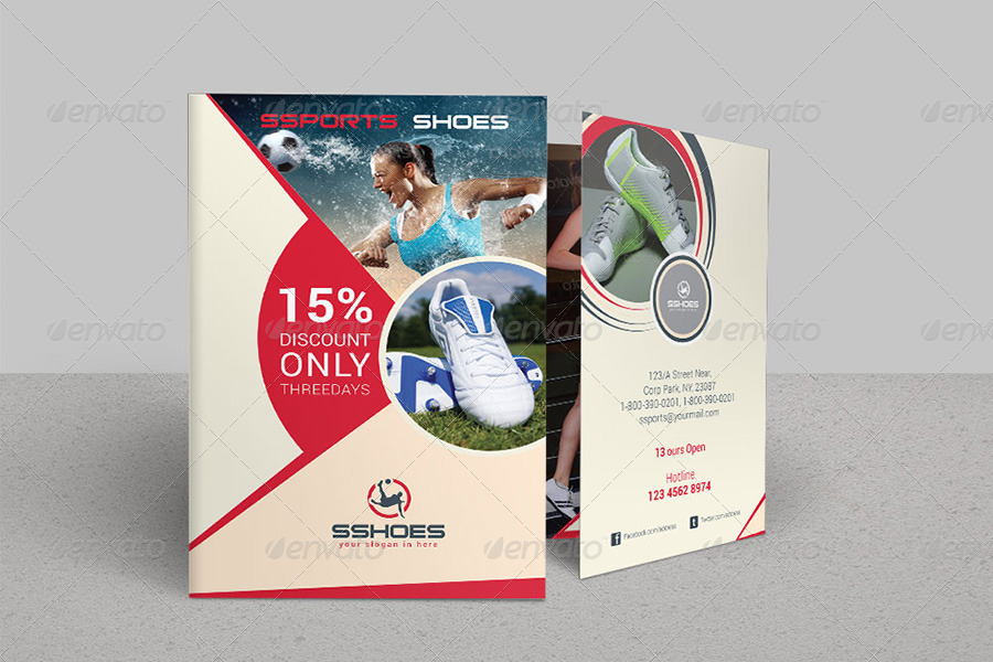 Sports Business BiFold Brochure  Volume  By Dotnpix  Graphicriver