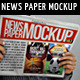Newspaper / Newsletter Mock-Up - V.3 - GraphicRiver Item for Sale