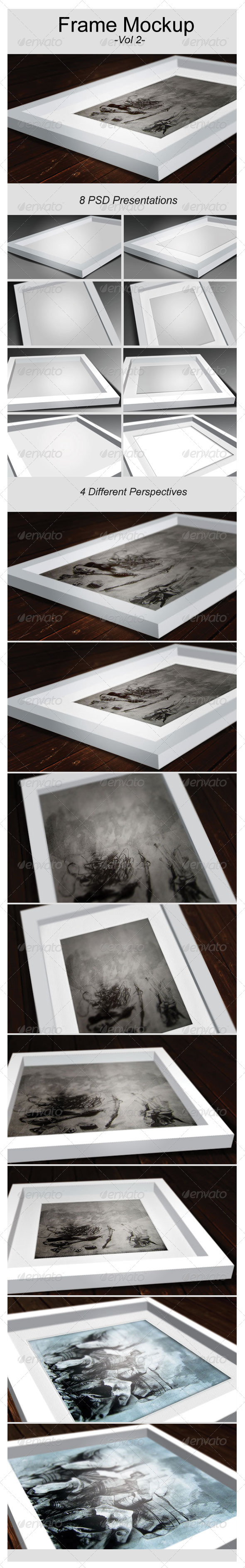 Artwork Frame Mock-Up Vol.2 - Graphics