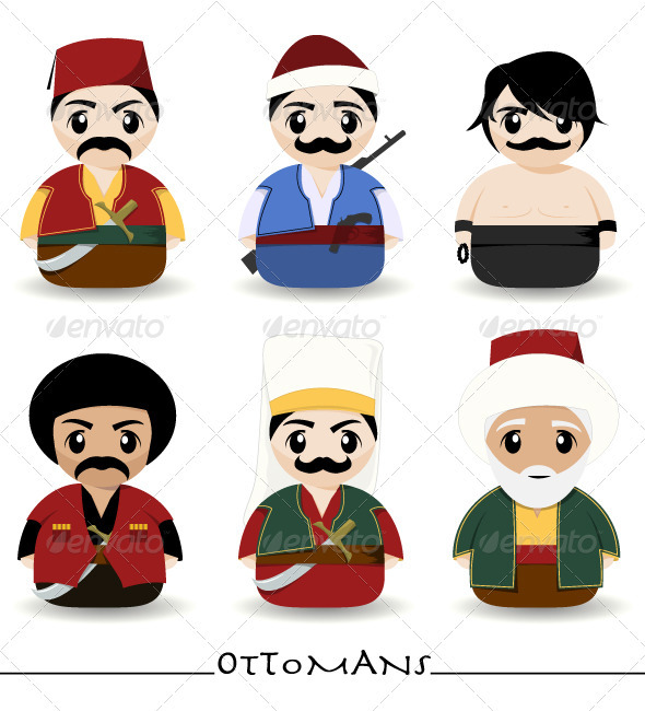 Ottomans - People Characters