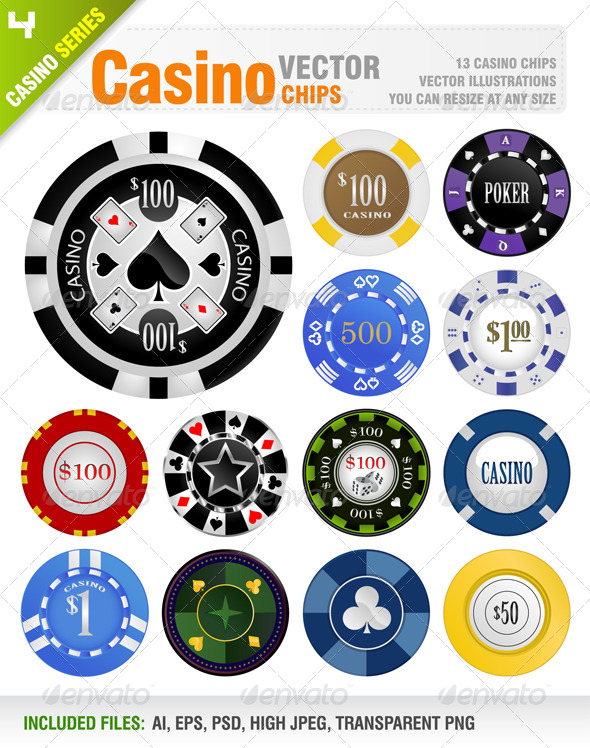 Casino Chips - Man-made Objects Objects