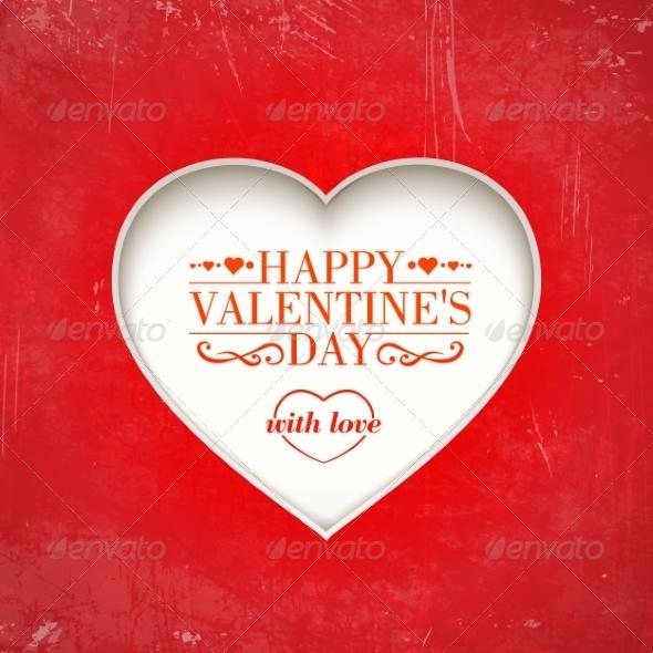 Love Greeting Card - Valentines Seasons/Holidays