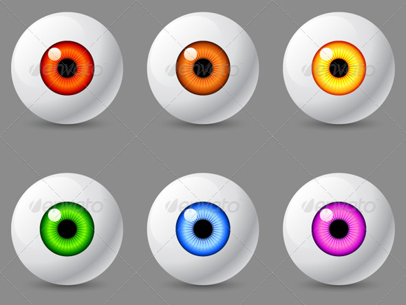 Human Eyeballs - Miscellaneous Characters