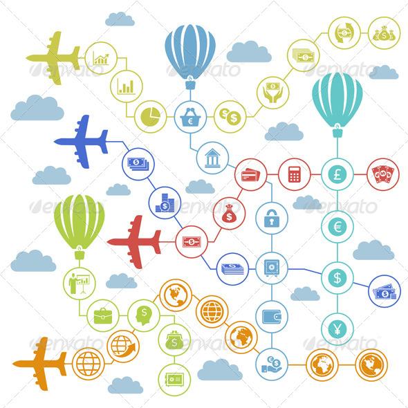 Business Plane - Miscellaneous Vectors