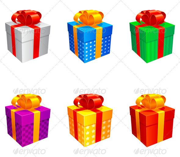 Gift Boxes - Seasons/Holidays Conceptual