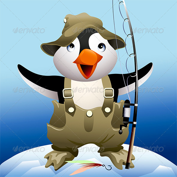 The Fisherman - Characters Vectors