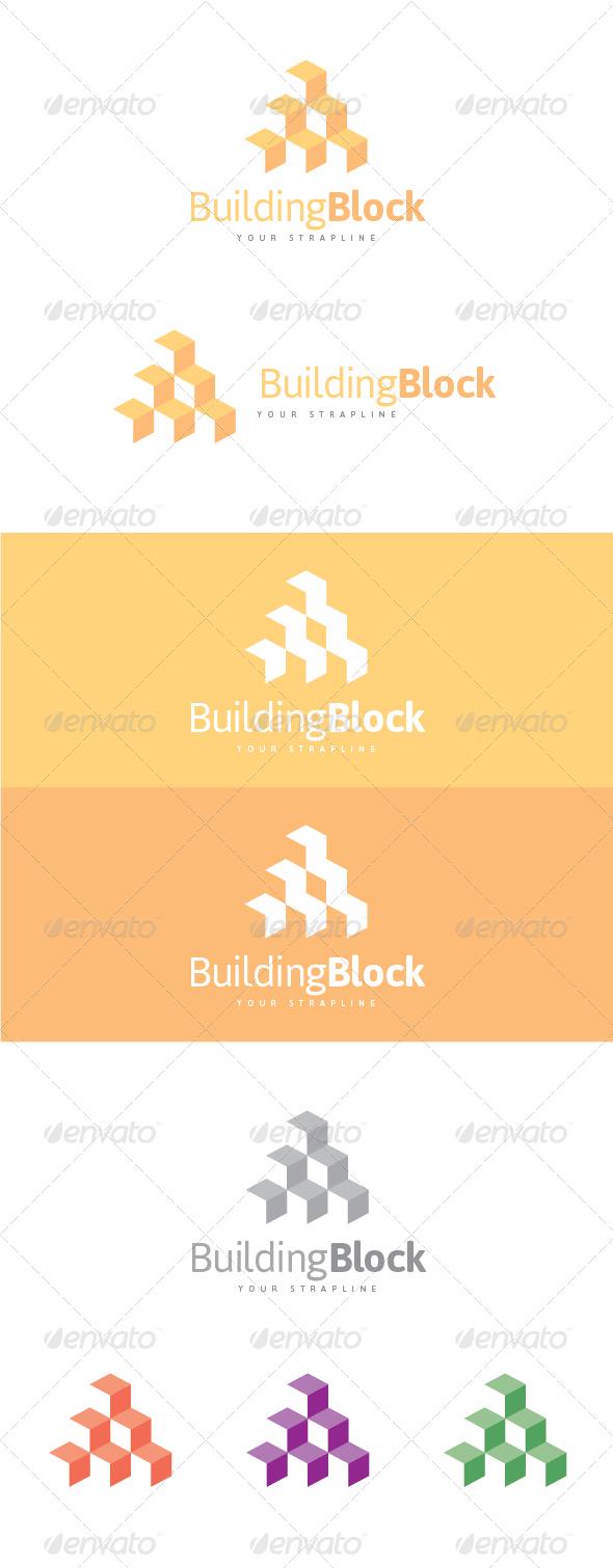 Building Block Logo - Buildings Logo Templates