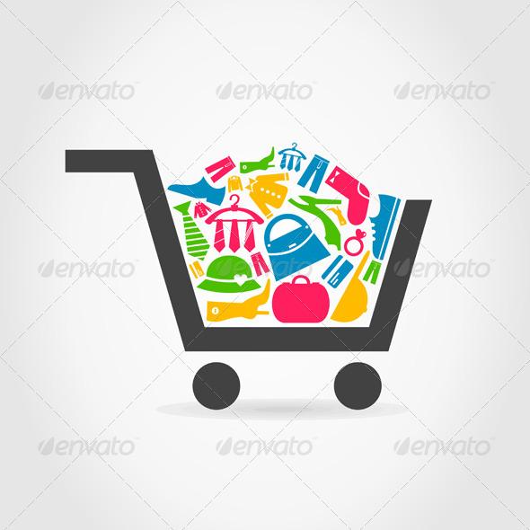 Clothes Cart - Miscellaneous Vectors