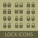 Lock Unlock Icon - GraphicRiver Item for Sale