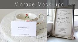 Vintage Mock-ups