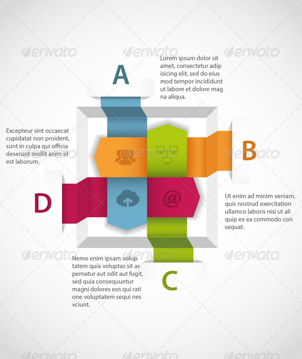 Abstract Infographics Element - Infographics