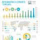 Infographic Elements Design Template Vector - GraphicRiver Item for Sale
