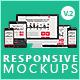 Flat Responsive Screen Mockups V.2 - GraphicRiver Item for Sale